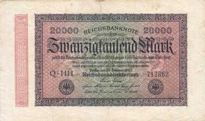 ГЕРМАНИЯ. 20.000 марок 1923. (100) 1.jpg