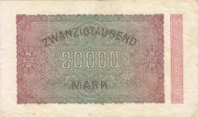 ГЕРМАНИЯ. 20.000 марок 1923. (100) 2.jpg