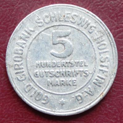 Нотгельд  Шлезвиг-Гольштейн 5 марок 1923 340р.JPG